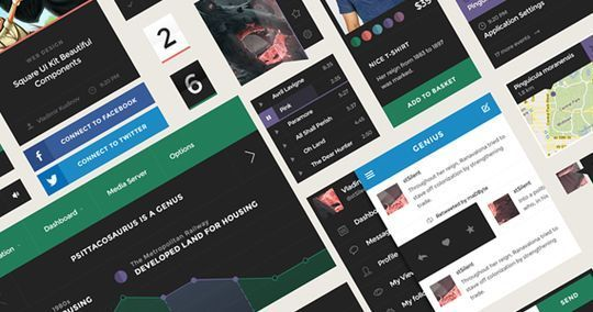45 Fresh Web And Mobile UI Kits With PSD Files For Designer