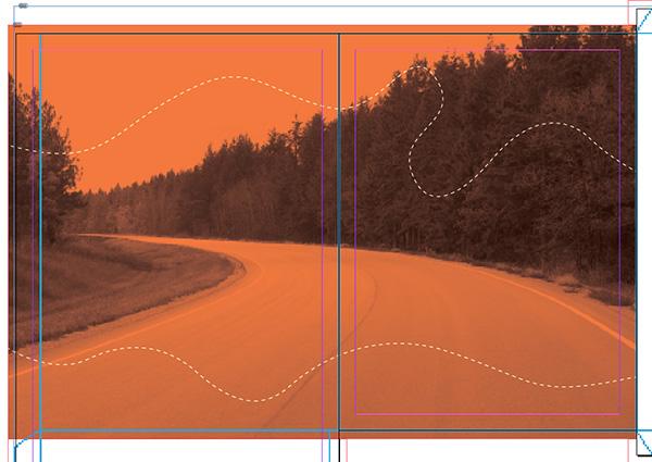 bike path drawing