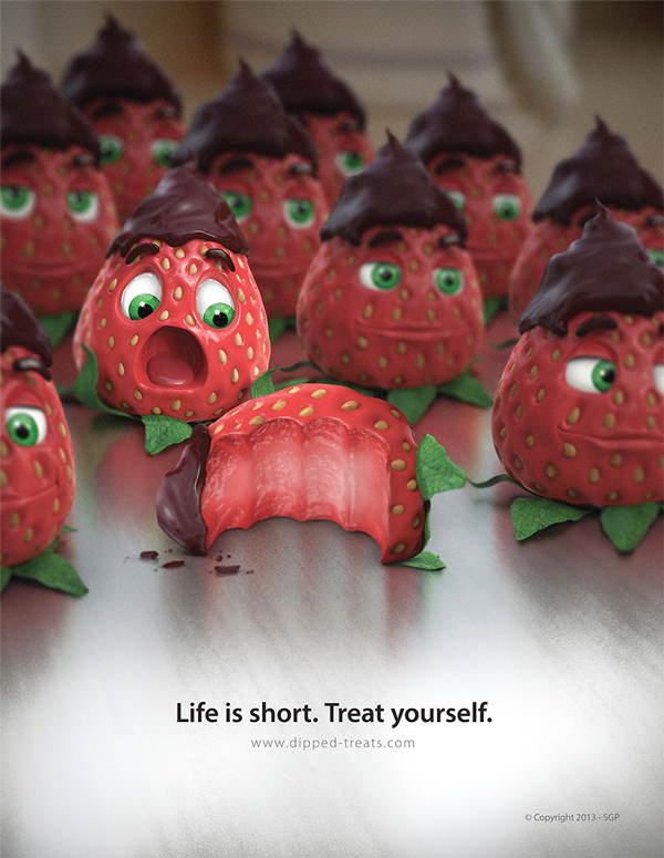 Strawberry Ad
