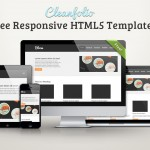Cleanfolio: Free Responsive HTML5 Template