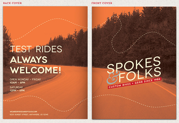 Design a Custom, Print Ready Pocket Folder in Adobe InDesign