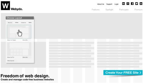 Webydo: The Code Free Website Creator Platform For Professional Designers