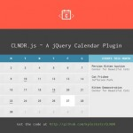 A jQuery Plugin for Creating Calendars