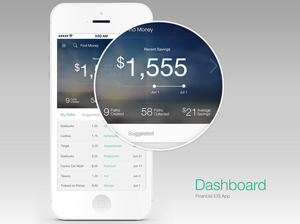 Money Dashboard by MD Debranski