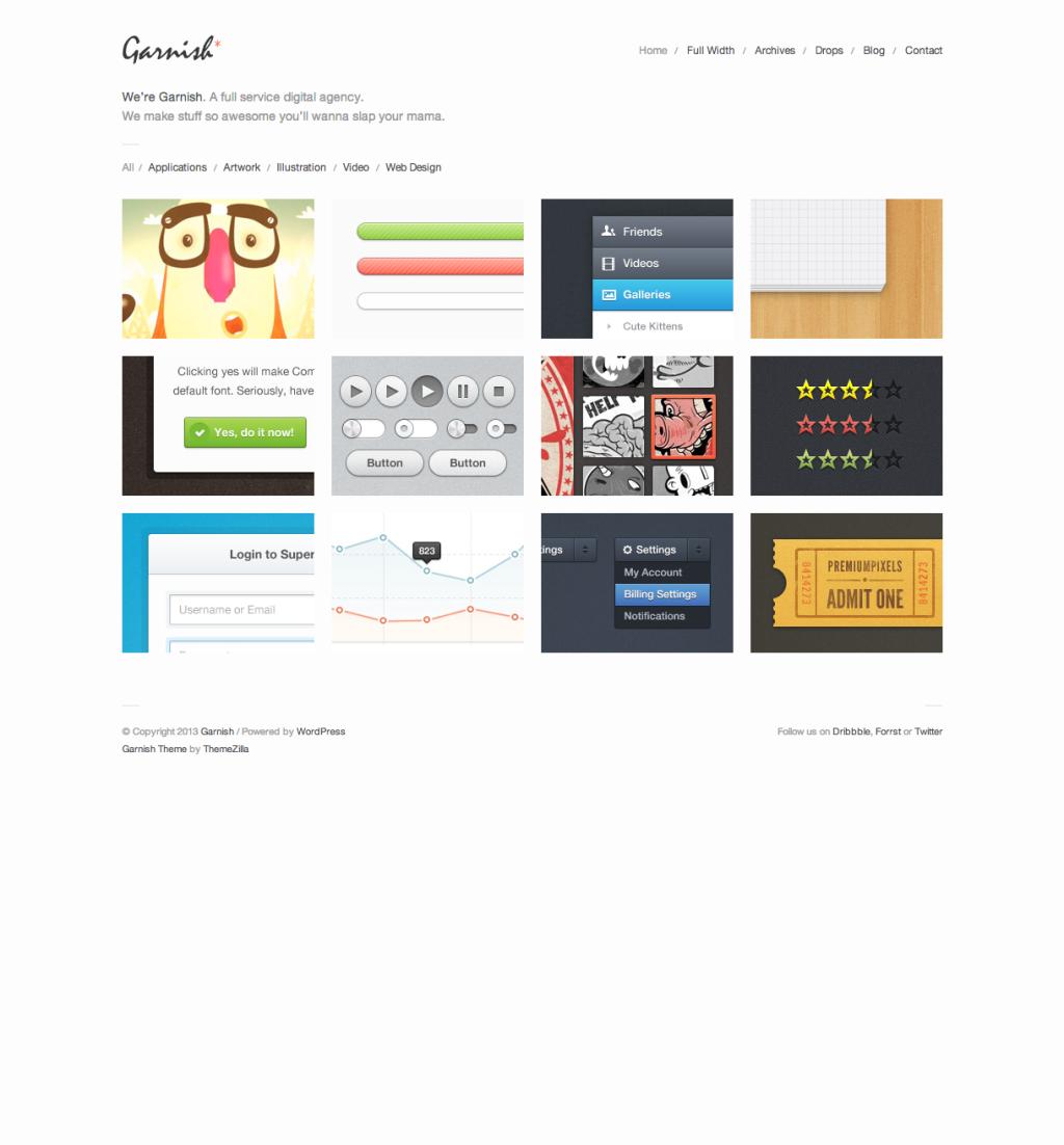 30 Masonry WordPress Themes