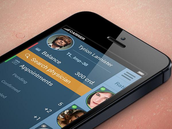 Medical App by Yurii Gusev