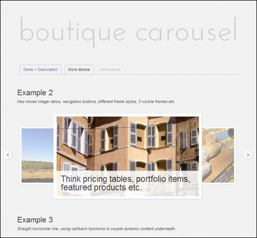 Boutique-Carousel-jquery-slider-plugin
