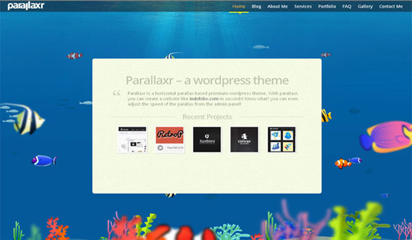 parallax-wordpress-theme