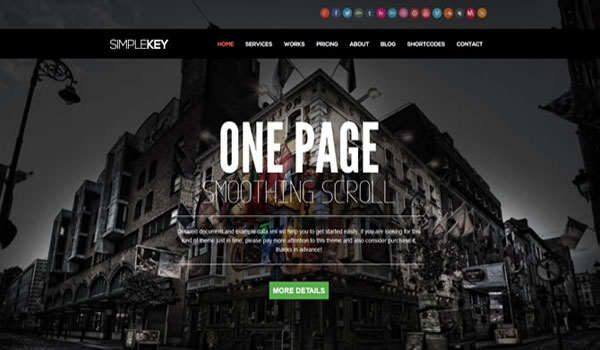 simplekey-wordpress-theme