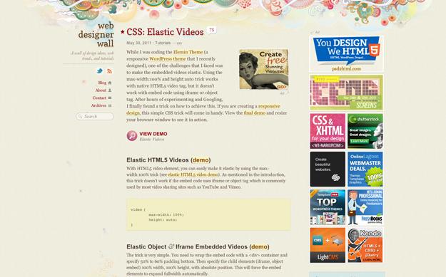 Elastic videos