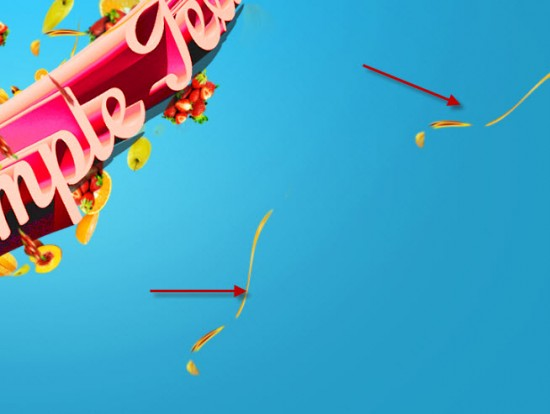 4 dup liq 550x414 Create Fresh Fruit 3D Text Effect in Photoshop