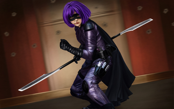 "Create a ""Kick-Ass"" Fan Art"