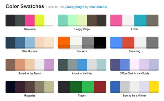 jQuery Swatches