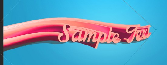 2 effect 550x213 Create Fresh Fruit 3D Text Effect in Photoshop