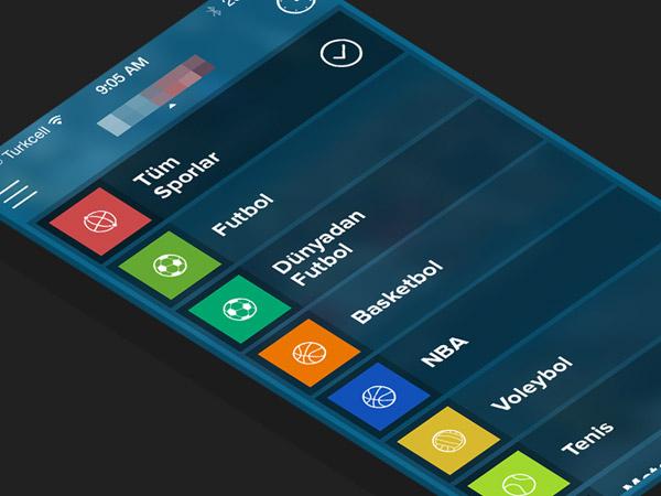 Showcase of Fresh iPhone App UI Concept Designs