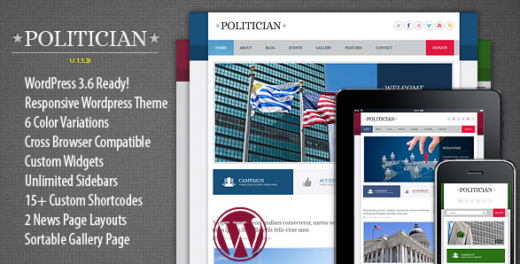 wordpress theme for city government 3