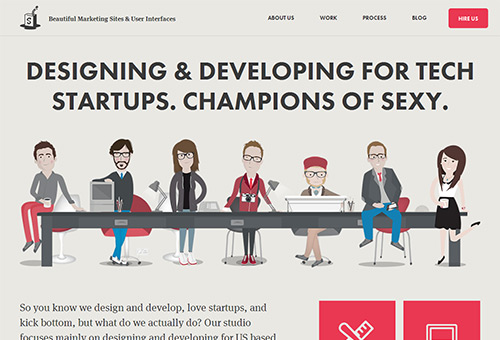 55 Fresh Examples Of Creative Single Page Website Designs