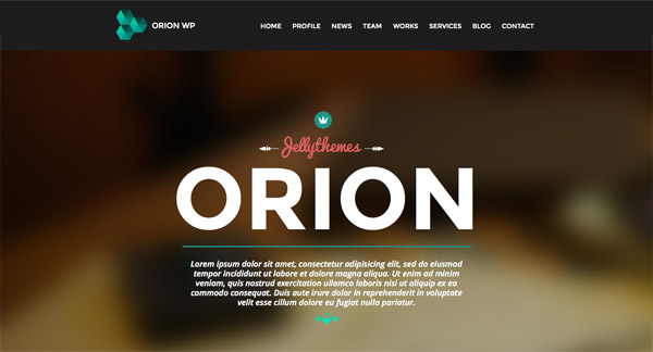 Web Design Inspiration from WordPress Theme Demos