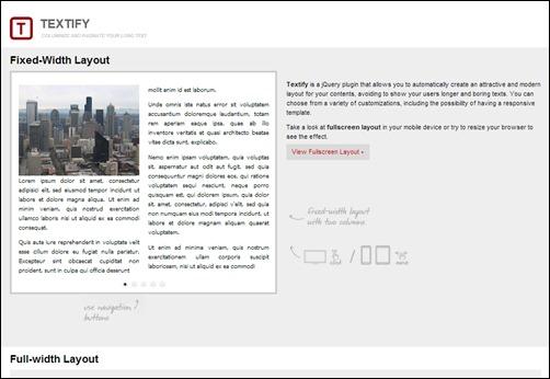 Textify-jquery-slider-plugin