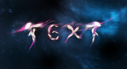 Create a Unique Rock Text with Space Background in Photoshop