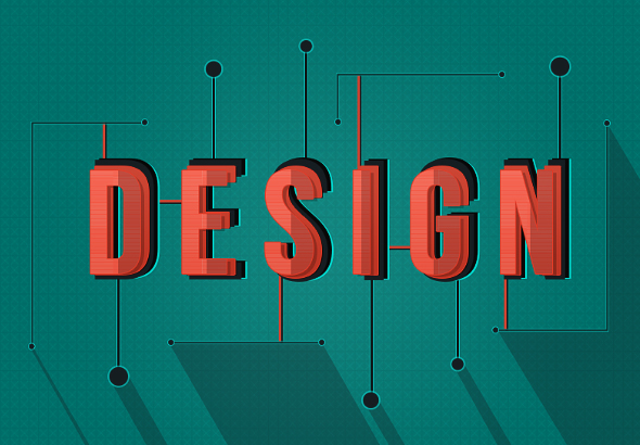 Create a Shaded, Stylized Text Effect in Photoshop