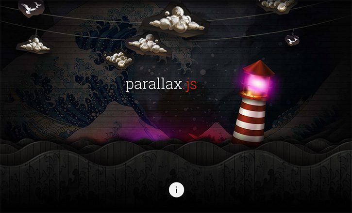 Impressive Parallax Javascript Plugin That Supports Gyroscrope