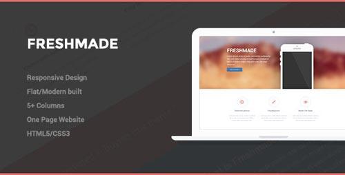 25 Fresh Responsive Landing Page Templates