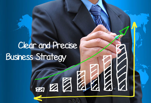 Clear and Precise Business Strategy