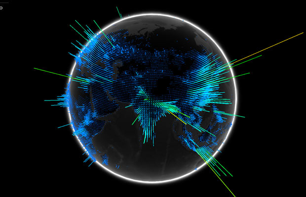 WebGL Globe