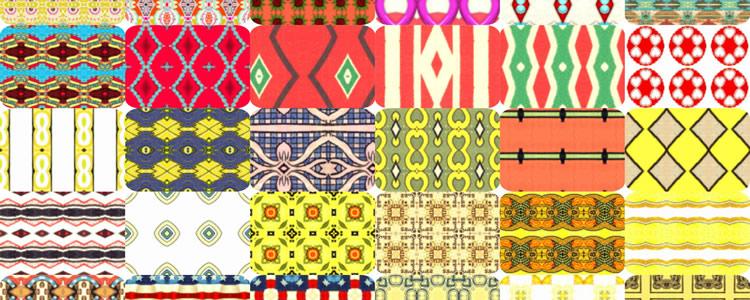 50 Deco Patterns Set JPG & PAT