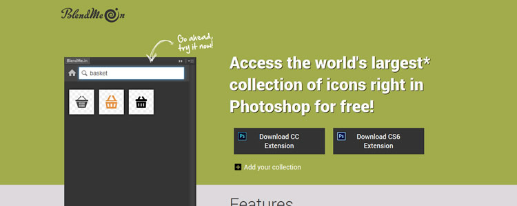 BlendMe.in Photoshop Extension