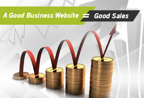 A Good Business Website = Good Sales