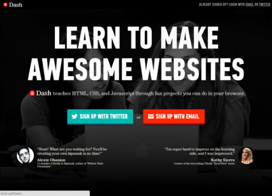 GA Dash: Newcomer teaches Newcomers HTML5 for Free