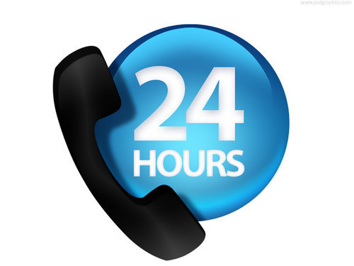 24 hours customer service (PSD)