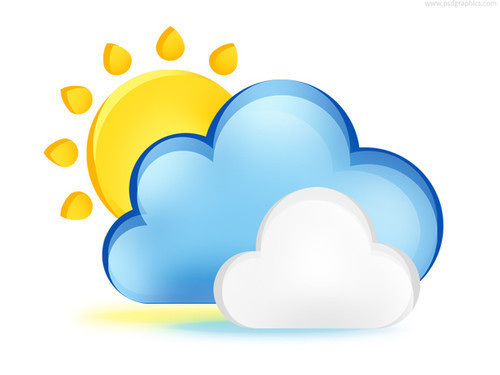 Weather icon (PSD)