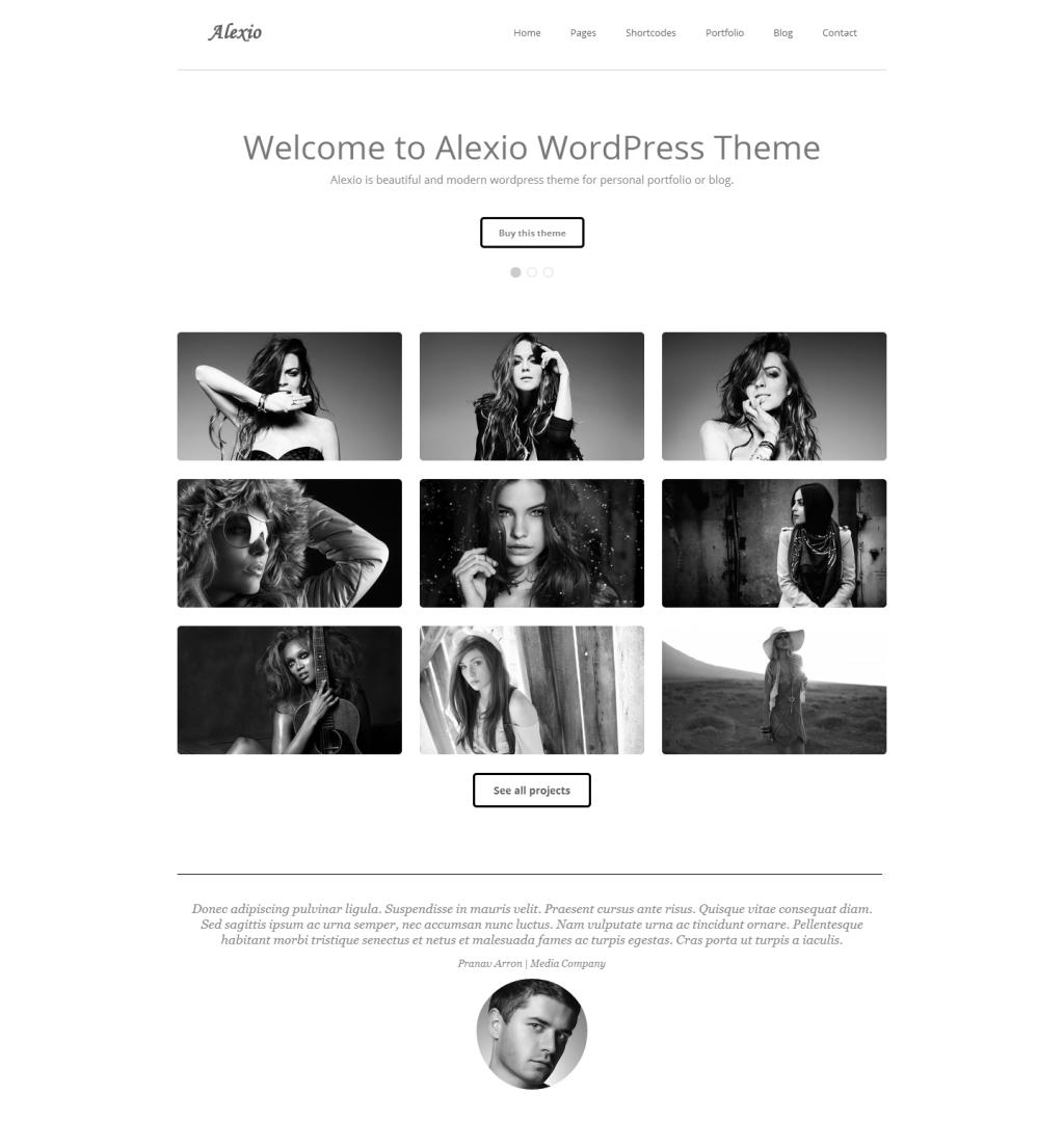 20 New Pixel Perfect WordPress Themes