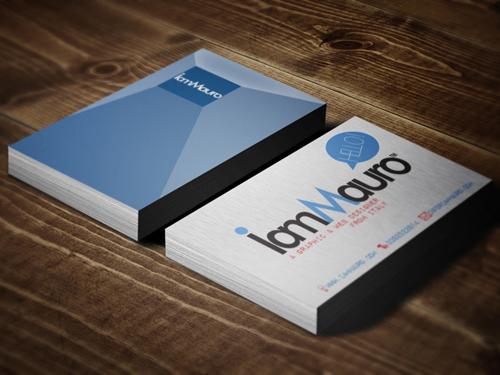 I Am Mauro Business Card
