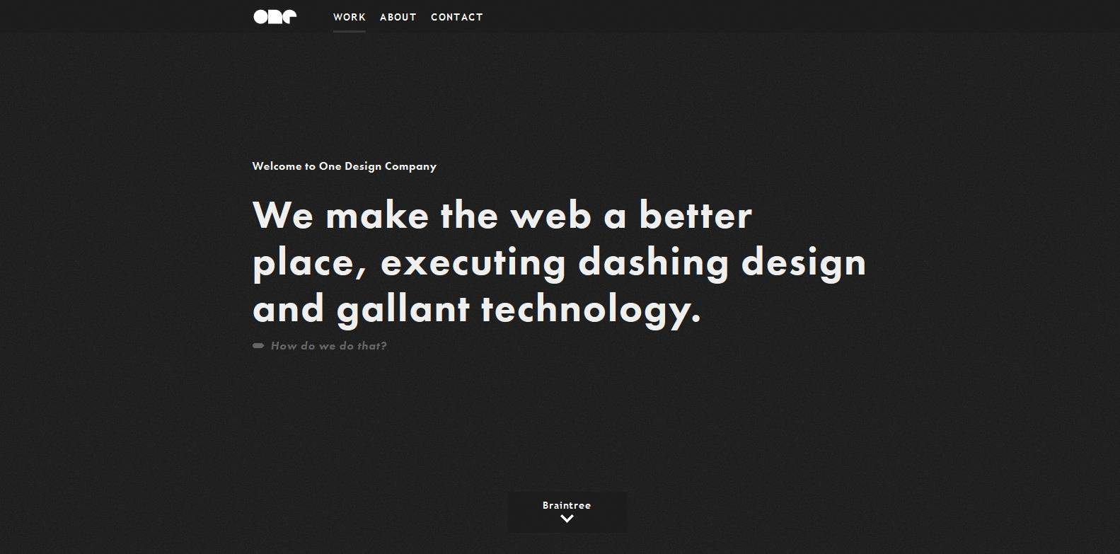 Tell A Story With Your Web Design - It Always Works
