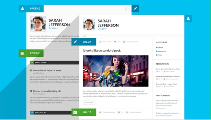 20 creative resume website templates to improve your online presence