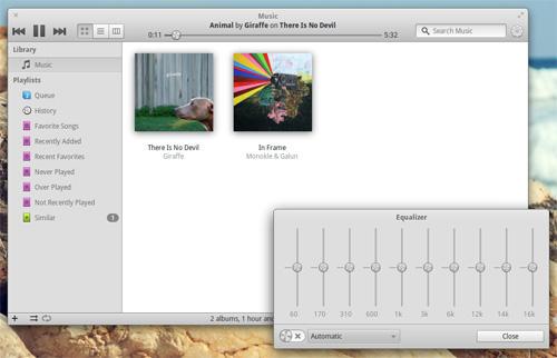 Elementary OS Music