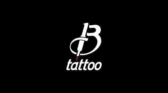 45 artistically designed single letter logo designs idevie for Single letter tattoo designs