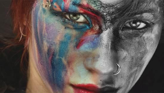 partial color effect tutorial