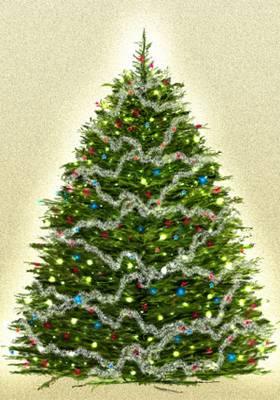 Draw a Christmas tree Christmas Photoshop Tutorials