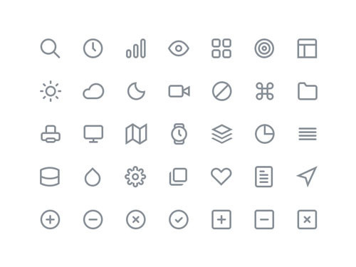 Feather Icon Set: Free Icons