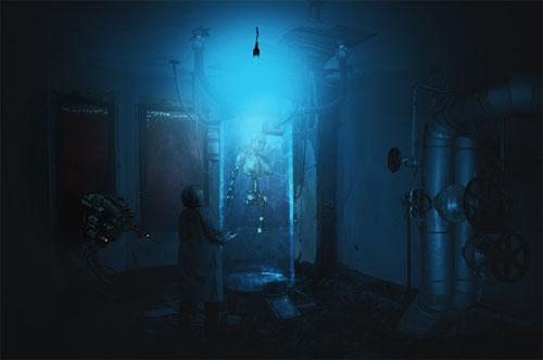 64 Create Dark Scientist Conceptual Photo Manipulation in Photoshop