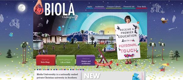 undergrad.biola artistic website