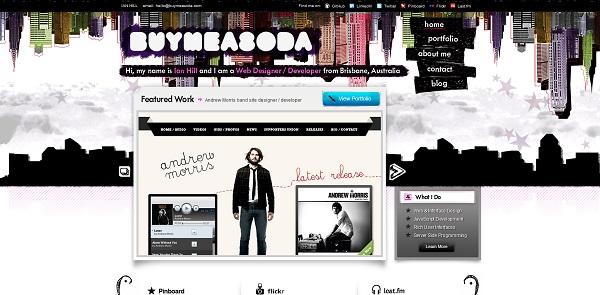 buy me soda artistic website
