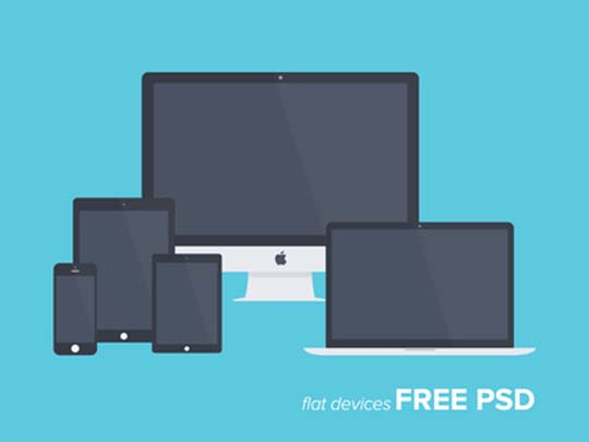 23.free flat minimal psd mockup