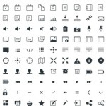 Free Download: Gicons – 100+ Free Icons [PSD,PNG]