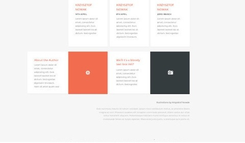 14 Fresh And Free PSDs Of Website Templates